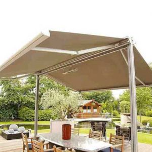 Double-side Retractable Awning